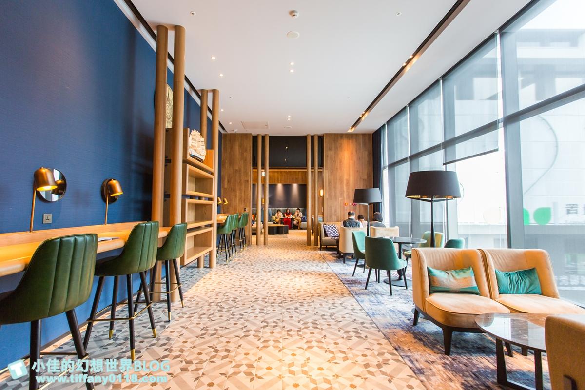 [桃園住宿推薦]COZZI Blu和逸飯店桃園館/全台首間海洋主題飯店/Xpark、新光影城、華泰名品城緊鄰在旁