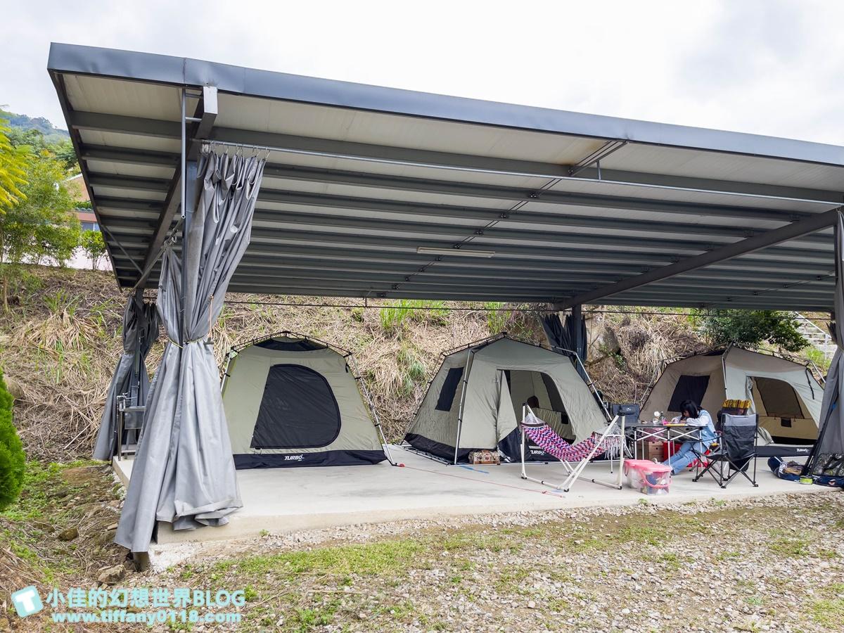 [露營]紮營趣/溜滑梯+戲水池+沙坑+彈跳床/五星級的衛浴間還有親子淋浴室超貼心/苗栗大湖露營區推薦
