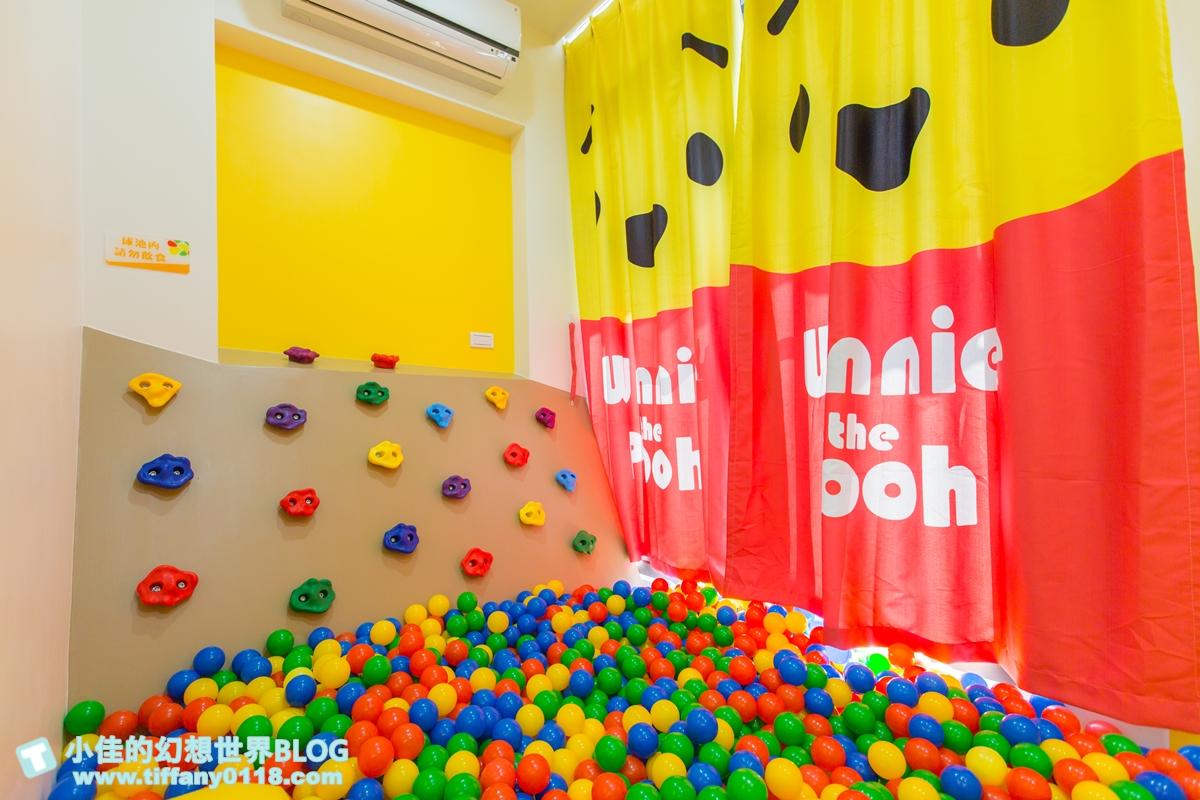 [宜蘭民宿]童萌國溜滑梯親子民宿/迎賓氣球+自製餅乾超貼心/主題造型溜滑梯房有球池和攀岩