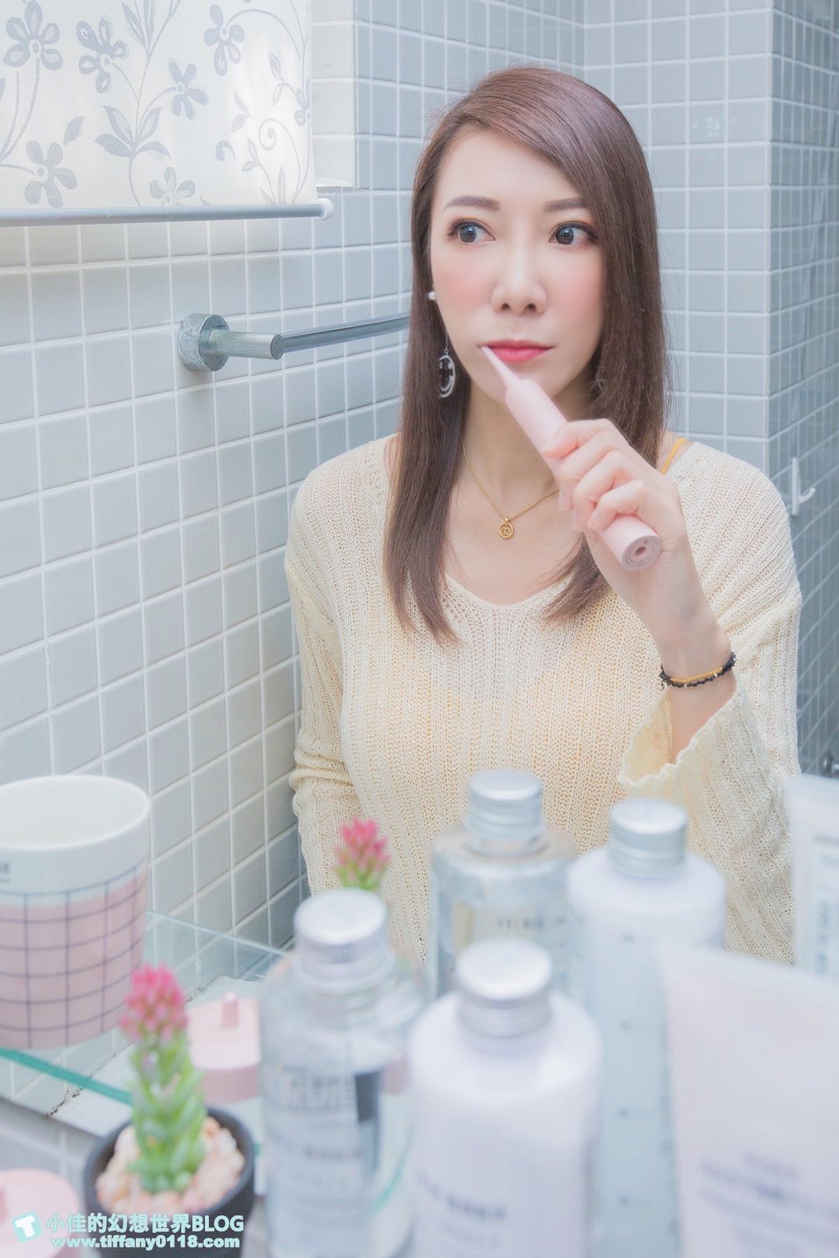[生活]TESCOM音波電動牙刷/五大潔齒模式+感應式充電,美型外觀使用超方便/電動牙刷推薦