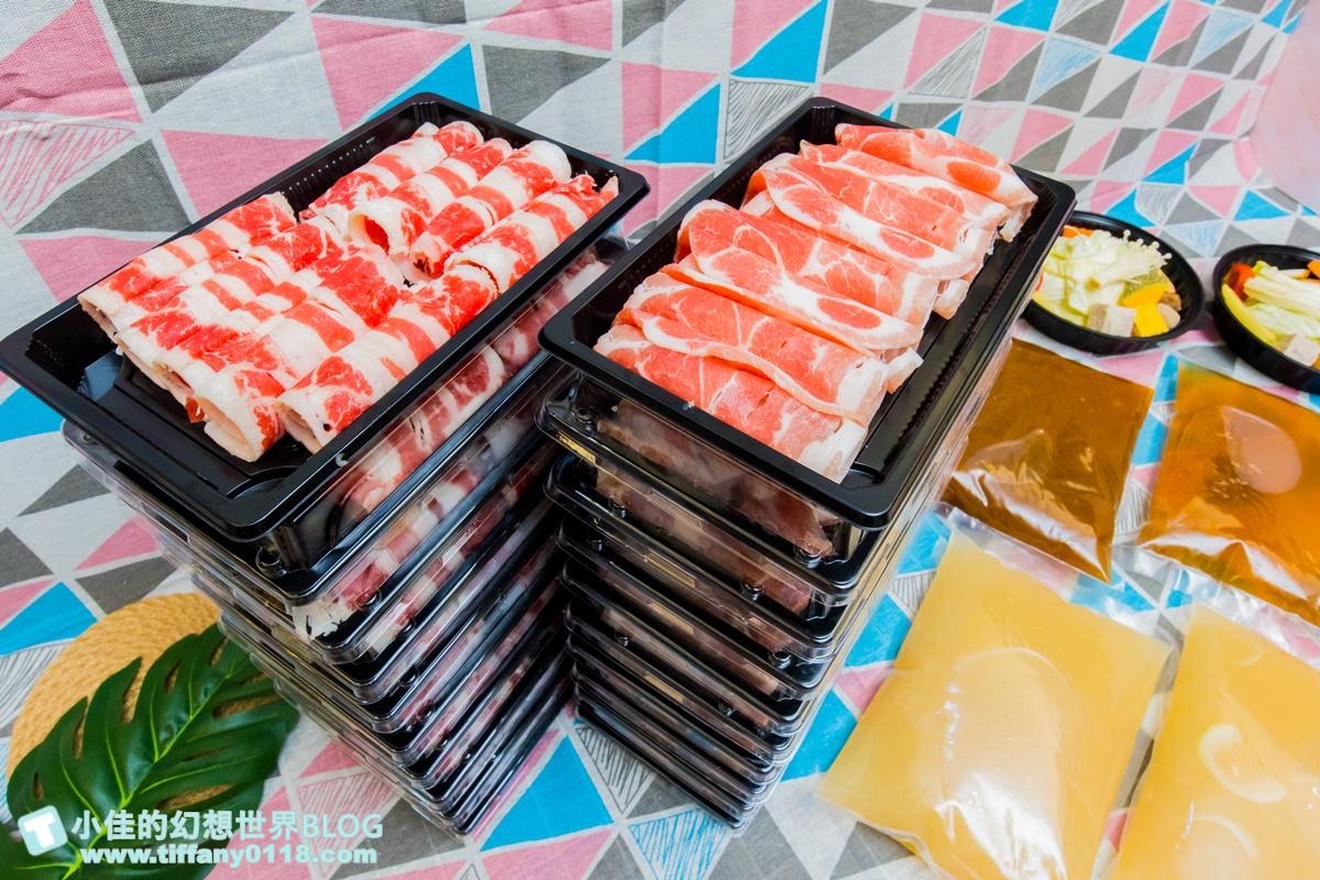 [外帶美食推薦]瀧厚鍋物全台最狂/+1元給你100盎司大胃王套餐/20盤肉肉山超壯觀