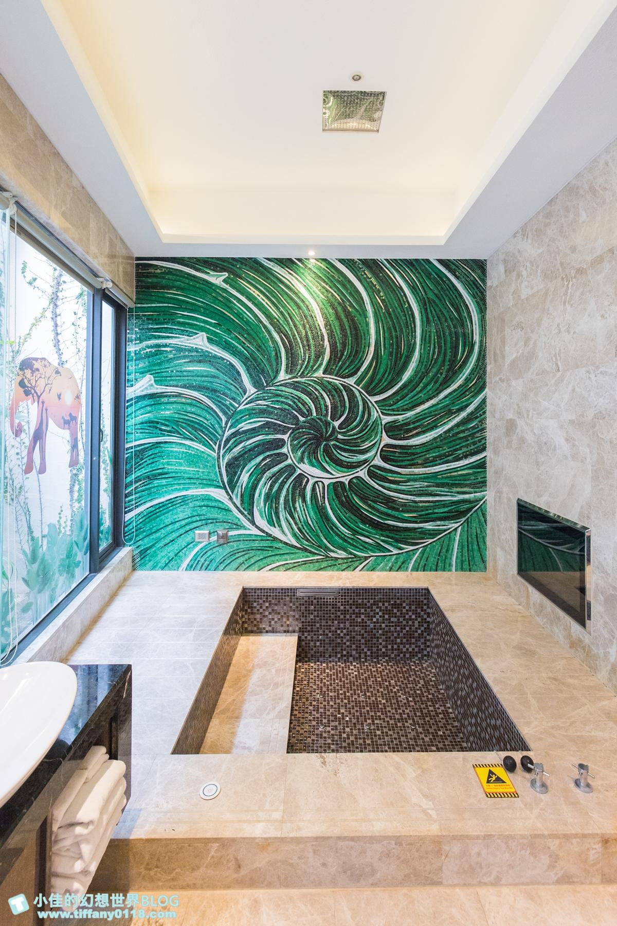 [台中住宿推薦]芭蕾城市渡假旅店/全台唯一叢林城堡主題房和獨角獸親子房型超夢幻/Villa主題房型寬敞又有特色